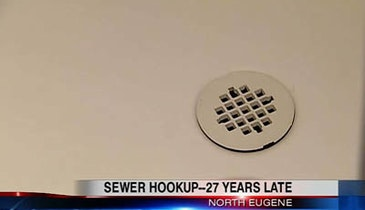 Family Discovers Plumber Never Connected Sewer