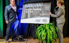 Plumbing Company Makes $200,000 Investment in Apprenticeship Training