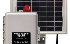 SJE Rhombus Tank Alert Solar