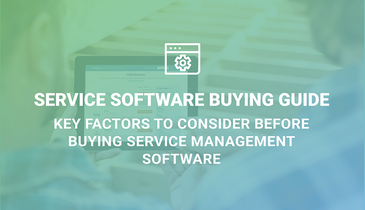 Service Software Buying Guide