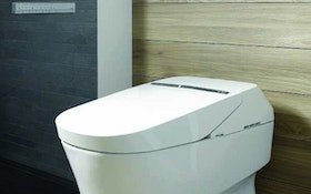 Toto intelligent, self-cleaning toilet