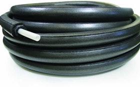 Uponor pre-insulated PEX pipe