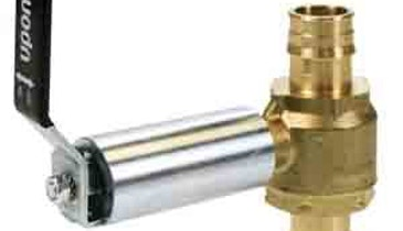 Product News: Uponor ProPEX Brass Ball Valves Designed for Hydronic Piping