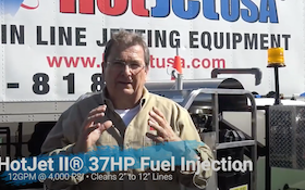 HotJet USA Introduces New Fuel-Injected HotJet II to Jetter Lineup