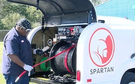 Spartan Tool's Warrior Jetter Pays for Itself on First Job