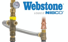 Webstone, a brand of NIBCO, water heater tempering valve