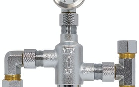 Webstone, a brand of NIBCO, ultracompact TMV valves