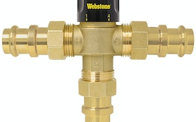 Webstone, a brand of NIBCO, Thermostatic Mixing Valves