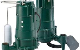 Shark fractional-horsepower grinders designed for flushed debris