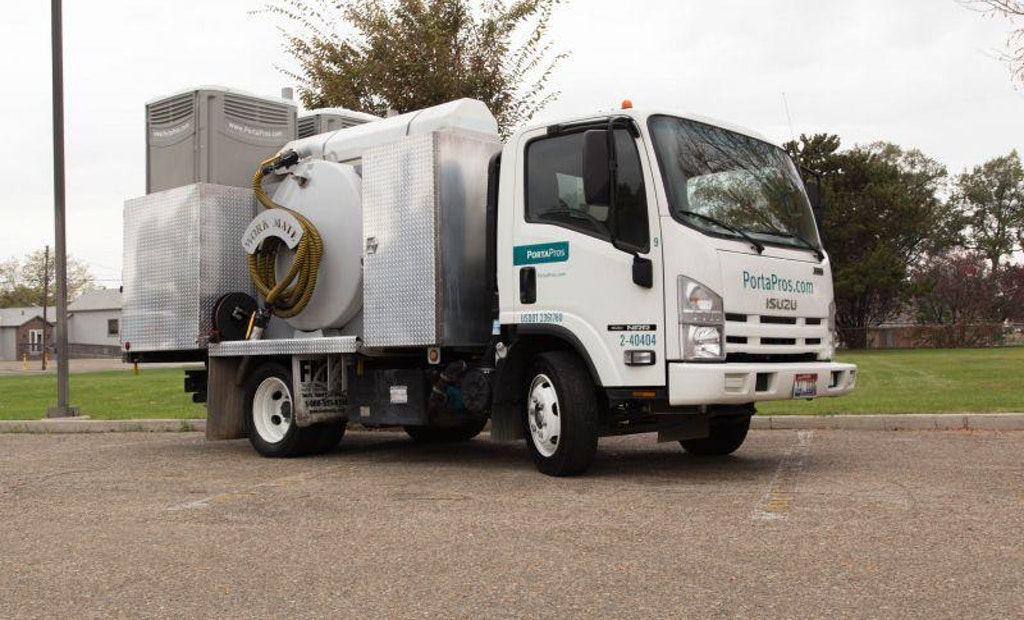 The MVP of Portable Sanitation: The Service Truck