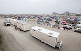 The PROs At Caprioni Portable Toilets Help Transform The Jersey Shore Into A Festival Grounds