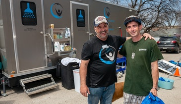 Comforts of Home Shower Trailer Provides Portable Sanitation With Dignity