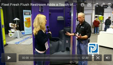 Fleet Fresh Flush Restroom Adds a Touch of Class