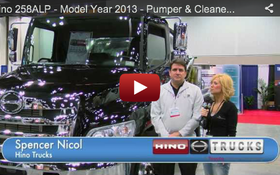 Hino 258ALP - Model Year 2013 - Pumper & Cleaner Expo Product Spotlight