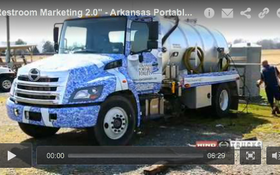 """Restroom Marketing 2.0"" - Arkansas Portable Toilets - June 2014 PROfile"