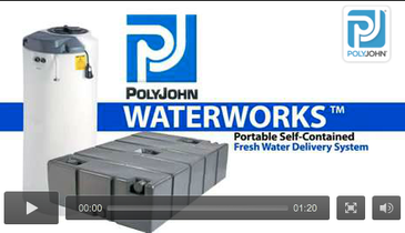 Self-Contained Fresh Water Delivery System Improves Portable Sanitation