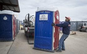 Patriotic Portable Restrooms Popular at Special Events