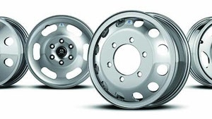 Alcoa Wheel Products aluminum wheels for medium-duty commercial vehicles