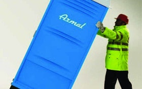 Portable Restroom Movers - Armal transport dolly