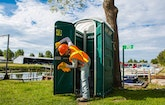 Family Utilizes Construction Contacts in Growing Transformed Portable Restroom Business