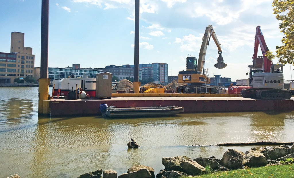 Serving a Fleet of Dredging Barges Made Jim Jansen Think Outside the Box