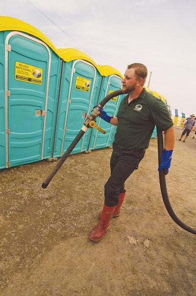 Fine-tuned Logistics Allow Canadian Portable Toilet Company to Enjoy and Supply Folk Festival