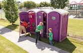 Everyone Pitches in to Make a New Restroom Business a Success