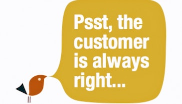 Apologize: The Customer is Always Right