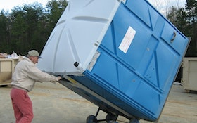 Portable Restroom Movers - Deal Assoc. Super Mongo Mover