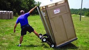Portable Restroom Accessories/Supplies - Restroom hand truck