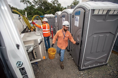 A Women-Owned Business Makes Its Mark With a Supersized Restroom Order in an Industrial Setting