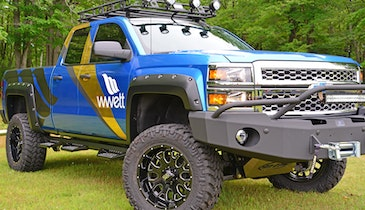 Win the Toughest Truck in Portable Sanitation!