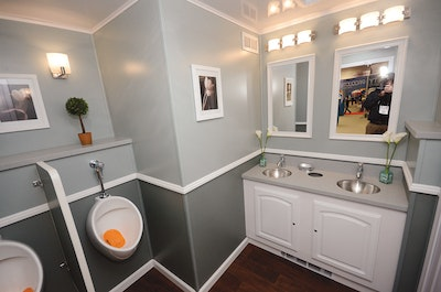 Satellite Suites series of restroom trailers aimed at luxury events, weddings and parties