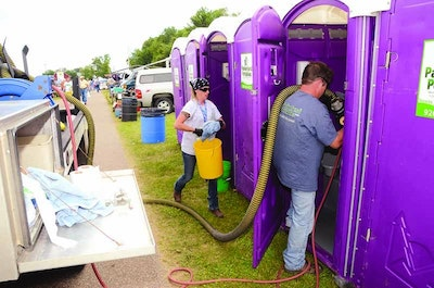 Clean Portable Sanitation a Key to Car Show Success