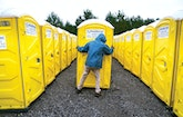 Computer Programmer Bobby Tucker Incorporates Many Technology Upgrades Into His Restroom and Roll-Off Container Business