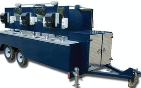 Portable Sinks - McKee Technologies - Explorer Trailers hand-wash station