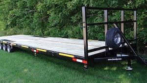 Transport Trucks/Trailers - F.M. Mfg. 30-foot trailer