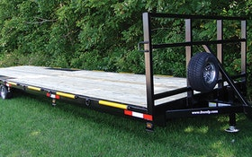 Transport Trucks/Trailers - F.M. Mfg. 30-foot trailer