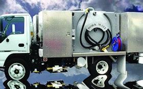Portable Restroom Service Trucks - FMI Truck Sales WorkMate