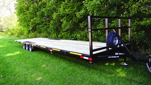 F.M. Manufacturing 30-foot trailer