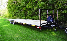 F.M. Manufacturing 30-foot trailer
