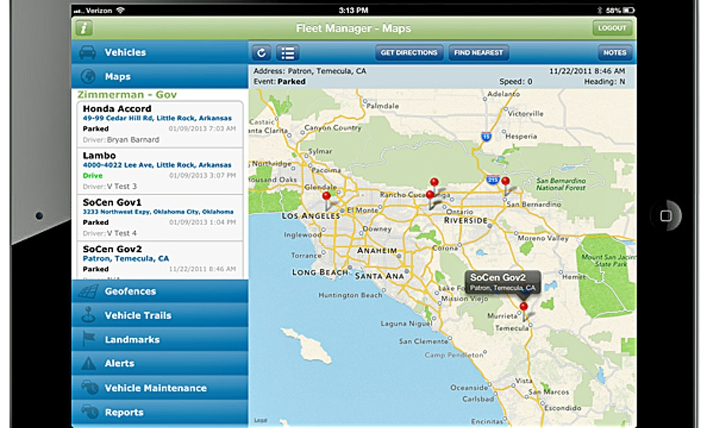 GPSTrackIt releases iPad app for vehicle fleet management