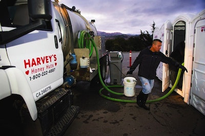 Portable Sanitation Plays An Important Role In The California Drought
