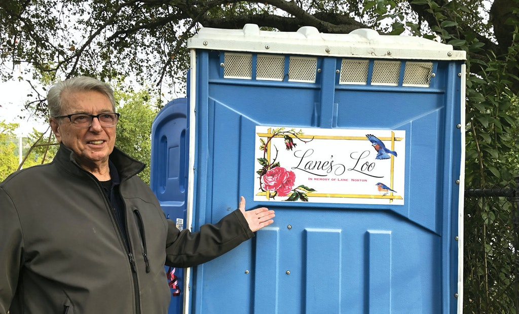 Lane's Loo Is Helping the Homeless in a Fire-Ravaged California Community