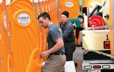 An Irish Festival Poses Major Challenges for a Restroom Service Crew