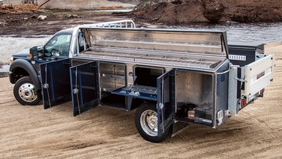 A Service Body — Your Ultimate Tool Caddy