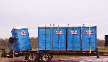 Kentucky Based Portable Restroom Operator Services Coal Country