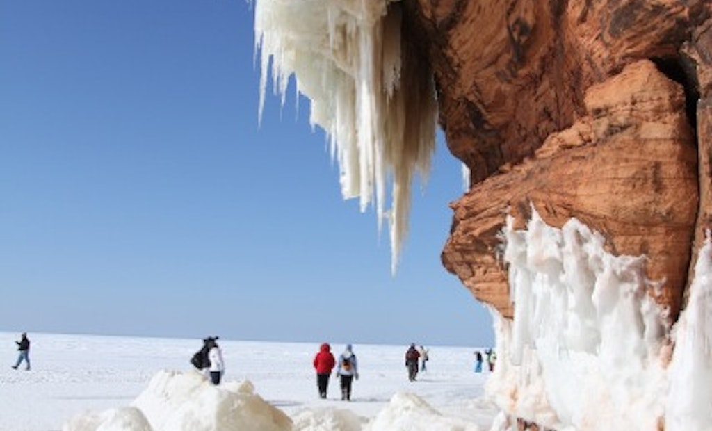 Lake Superior Ice Caves Draw Big Business for Northern Wisconsin PRO