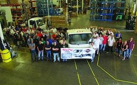 Isuzu produces 30,000th N-Series gas truck