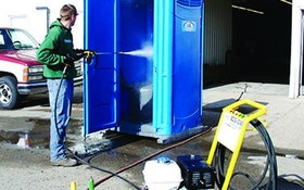 Slide-In Units and Accessories - Belt-drive cold pressure washer